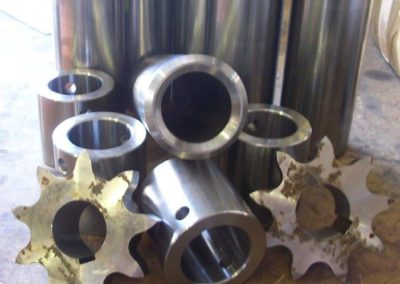 Various machined parts for customer order
